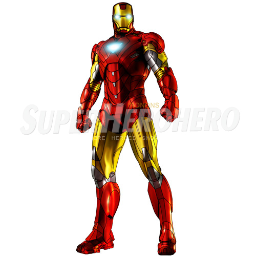 Designs Iron Man Iron on Transfers (Wall & Car Stickers) No.4572